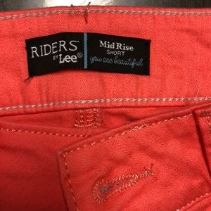 Riders by Lee Shorts - Pink Riders Lee Mid Rise Shorts